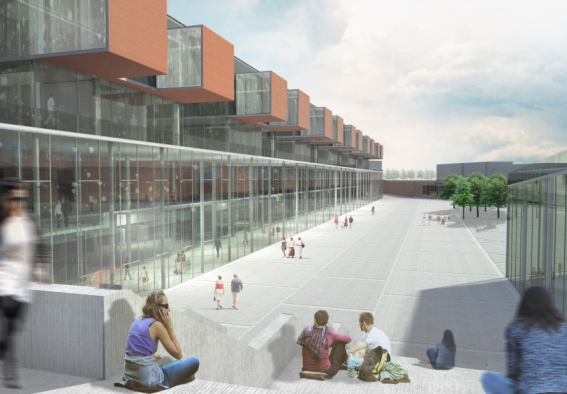Campus Universite Otaniemi Helsinki 2012 by Dragan Architecture Paris