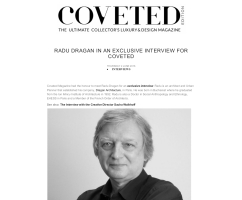 Interview Radu Dragan Coveted architecture