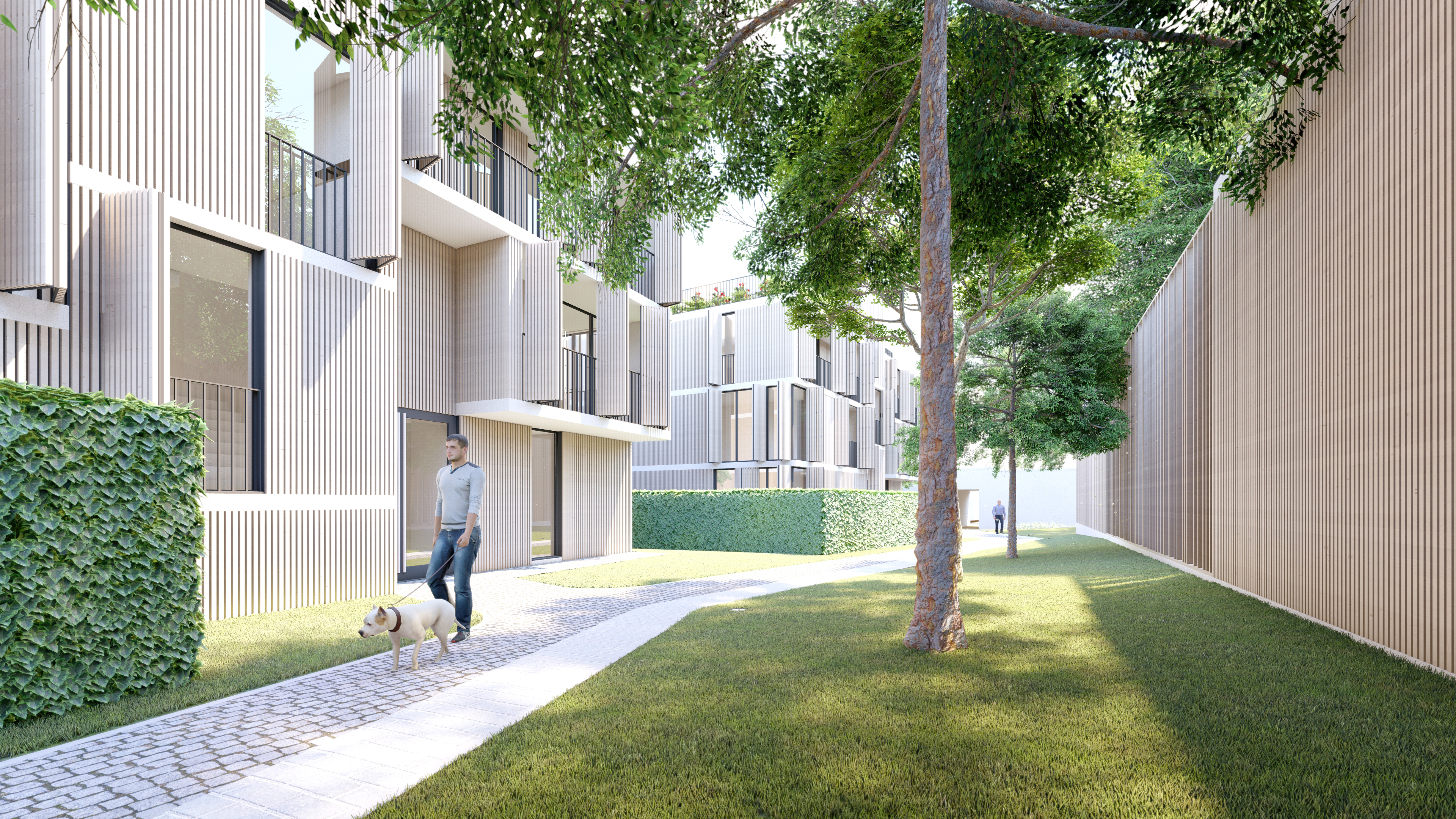 16 Social Apartments and medical home 2019 by Dragan Architecture Paris