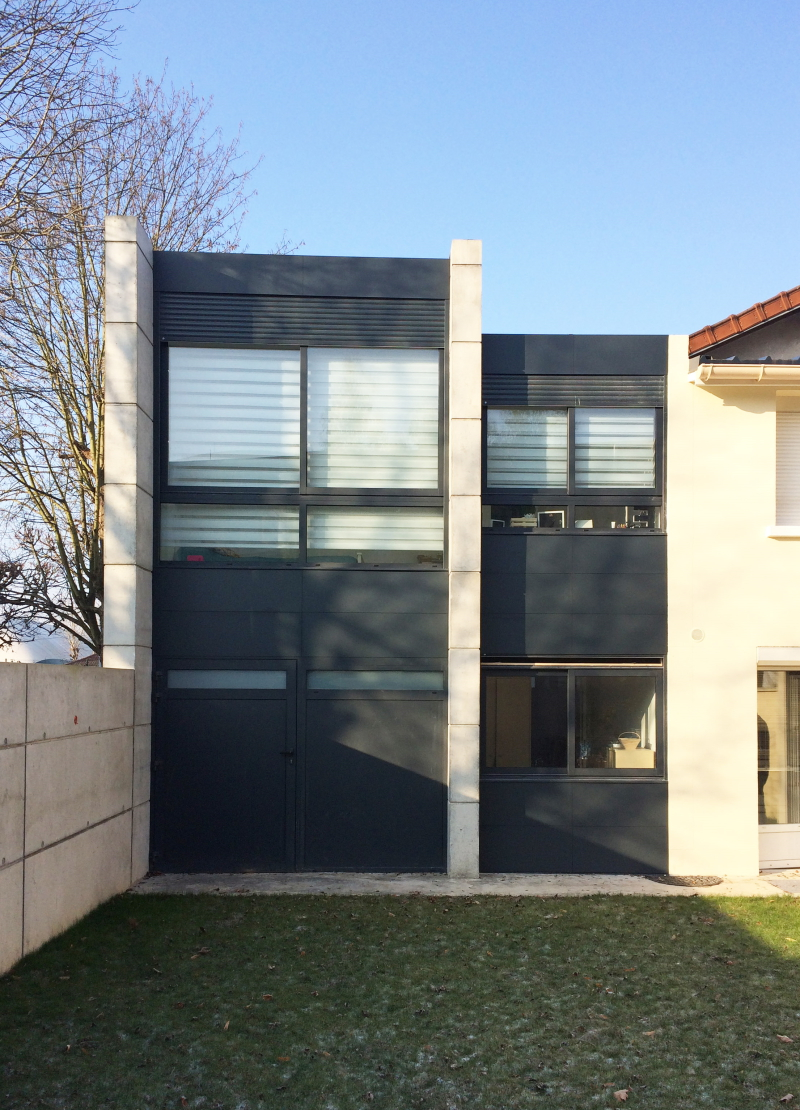 Extension Perreux sur Marne 2016 by Dragan Architecture Paris