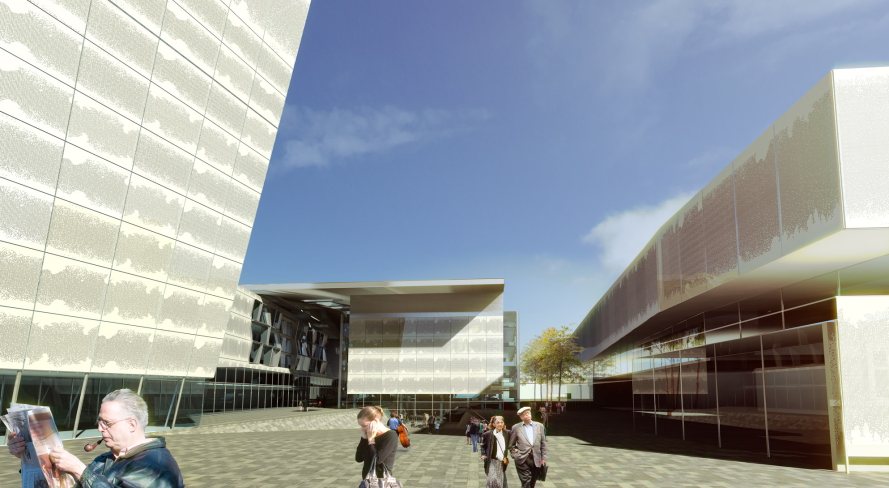 Philharmonie Cluj 2011 by Dragan Architecture Paris
