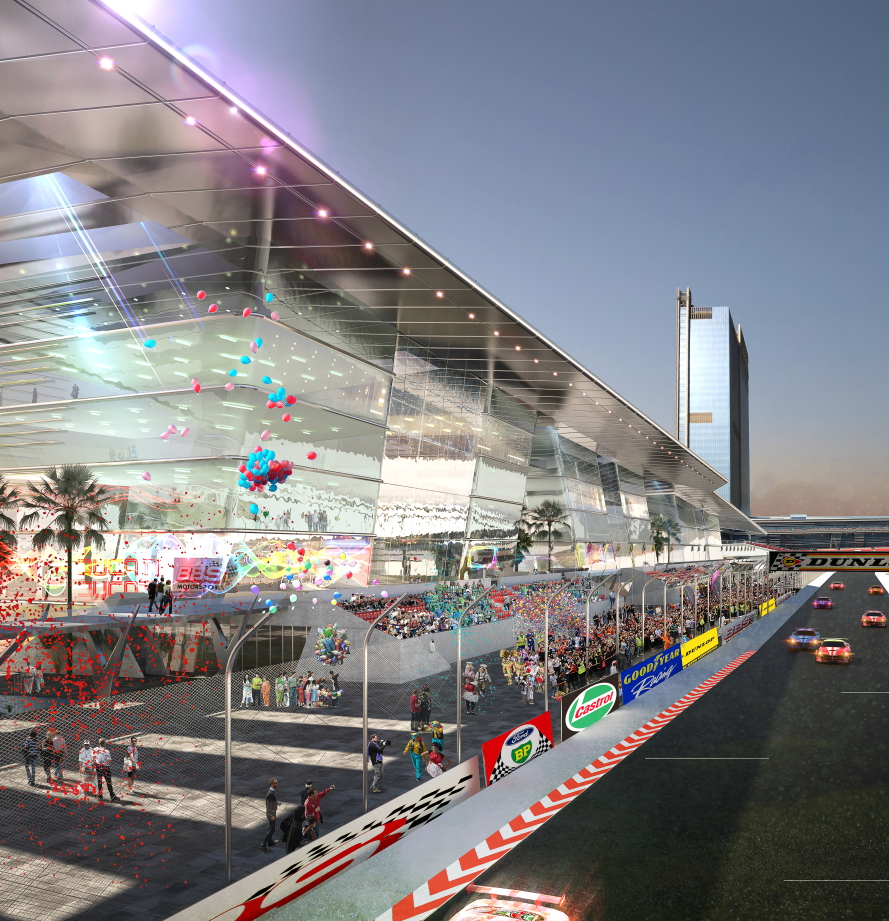 The Link Motor City Dubai 2014 created by Dragan Architecture Paris
