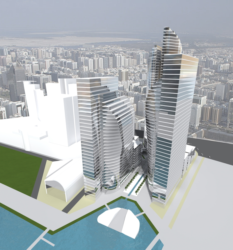 Abu Dhabi City Walk Development Project, 2016, Dragan Architecture, Paris